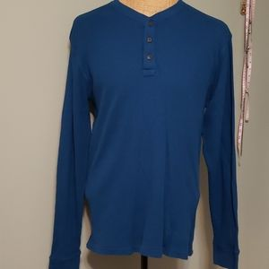 Men's long-sleeved thermal shirt